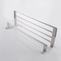 "KES SUS304 Stainless Steel 22"" Hotel Towel Rack Bathroom"