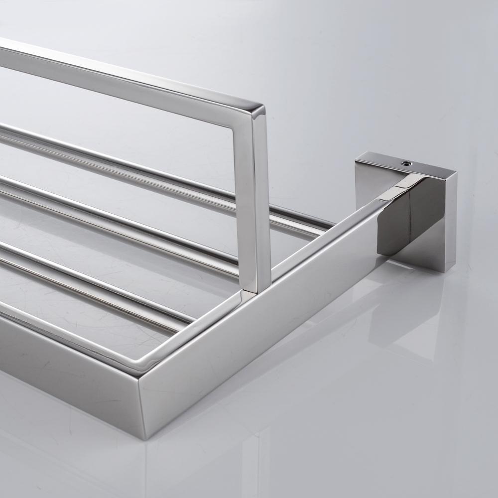 KES A2510 Bathroom Lavatory Double Bathroom Shelf Towel