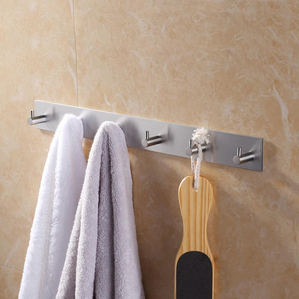 Adhesive Towel Hooks  Towel Image JardImageco