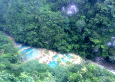 Viewpoint at semuc champey