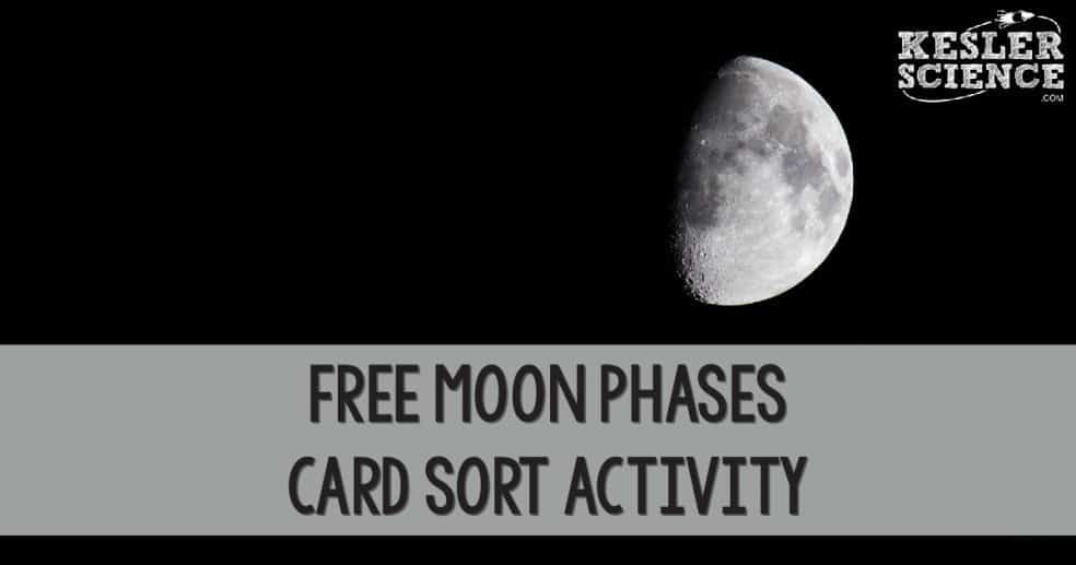 free moon phases card