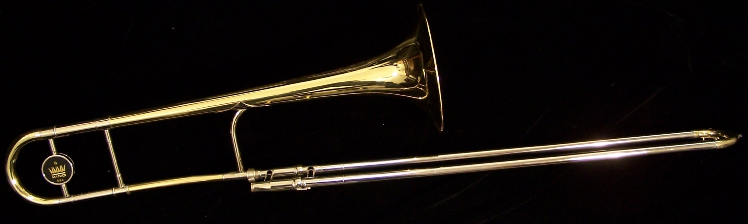 2004 Used King 3B Professional Trombone  2103