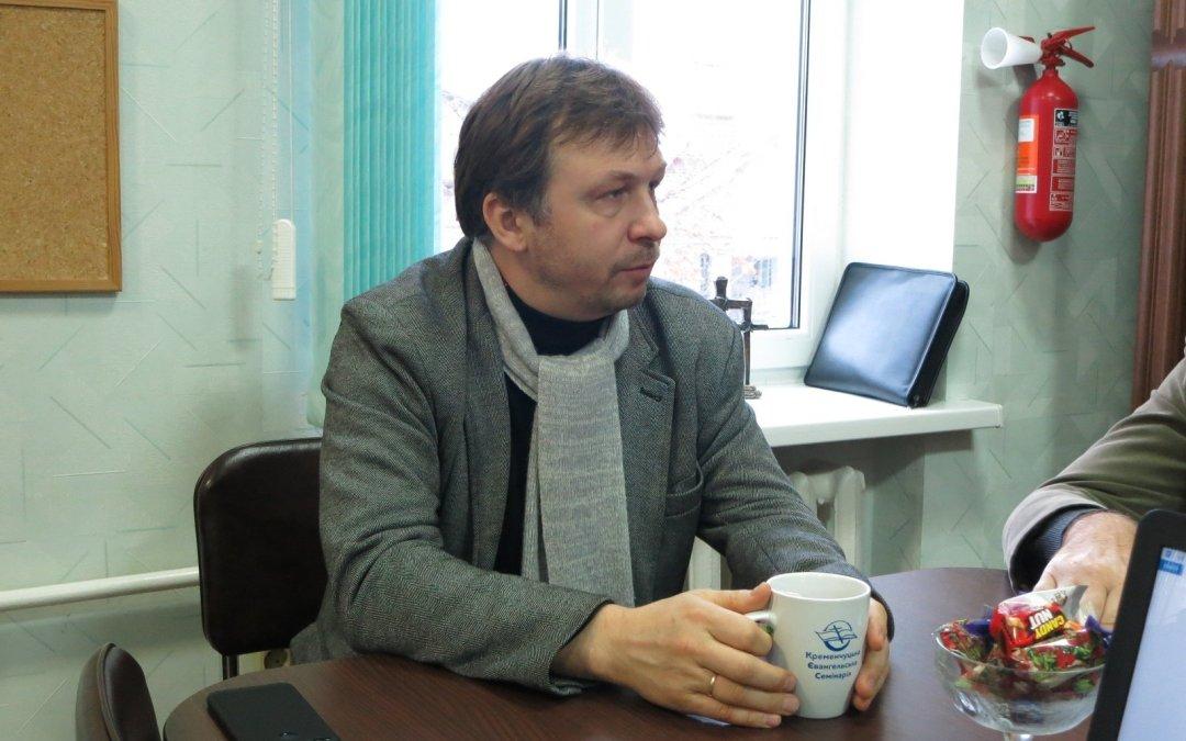 Тарас Дятлик в гостях в КЕС: «взгляд с высоты»