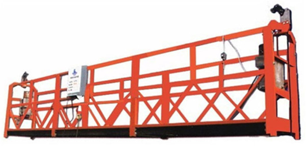 Wire Rope Lifts Hydraulic Scaffolding Good Choice for Construction ...
