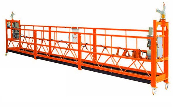 ZLP800 800kg Building Wall Painting motorized gondola suspended Working Platform