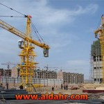 5 axle mobile tower crane