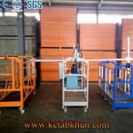 Aluminum Suspended Platform Zlp With 630kg Capacity