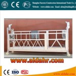 China hot sale ZLP temporary installed suspended access equipment/suspended platform