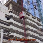 Construction Elevator with a Cage or Double Cages