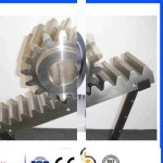 Differential Excavators Spur Gear Parts/ Steel Small Pinion Rack And Pinion