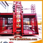 Double Cages Building Hoist To Export