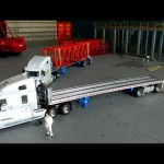 Freightliner Century class with East flatbed trailer review