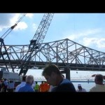 ground breaking ceremony for Ohio River Bridges Project Downtown Crossing