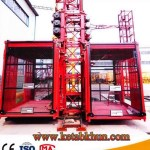 High Speed Double Cage Construction Lifter