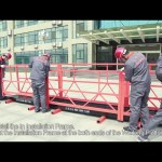Installation Video of ZLP630 ZLP800 Suspended Platform-English