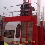 Single Cage CE & GOST Approved Warehouse Cargo Building Elevator SC100