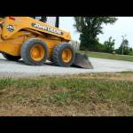 spreading gravel