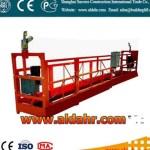 suspended platform parking system