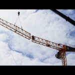 Tower Crane Assembly in North Vancouver