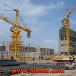Tower Cranes Made in China, Self Erecting Tower Crane Qtz100 5613