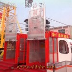 Xmt 1000kg Single Cage Construction Elevator for Sale