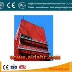 zlp500 rope light weight scaffolding suspended platform/ gondola powered by motor system