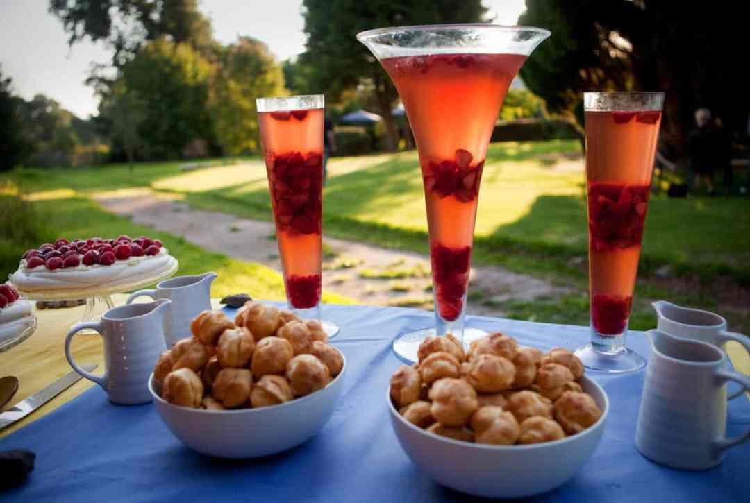 Delicious deserts at Lemore manor wedding