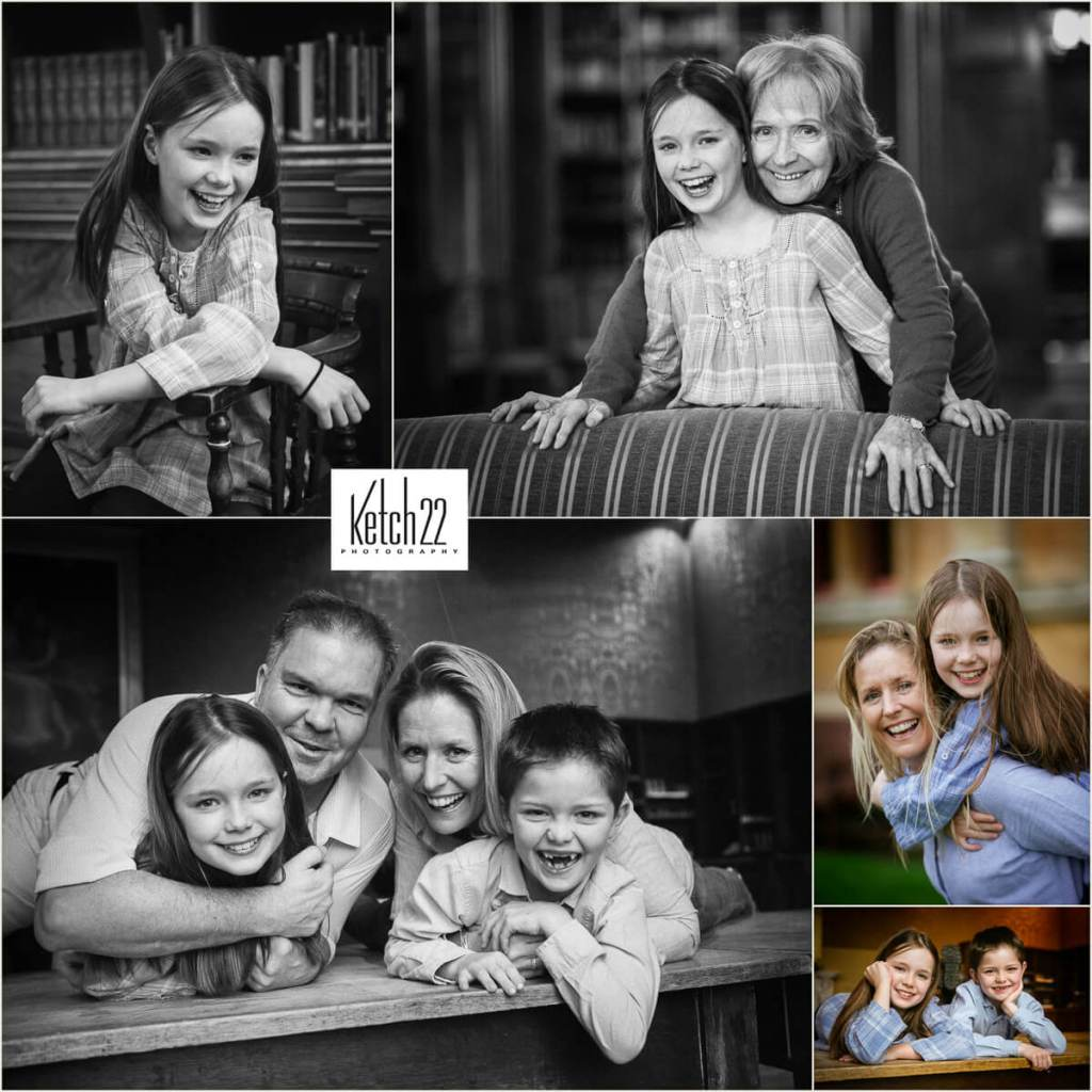 Natural photos of kids and family / Portrait photographer Tetbury