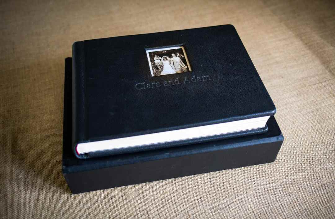 Graphi studio wedding album and box