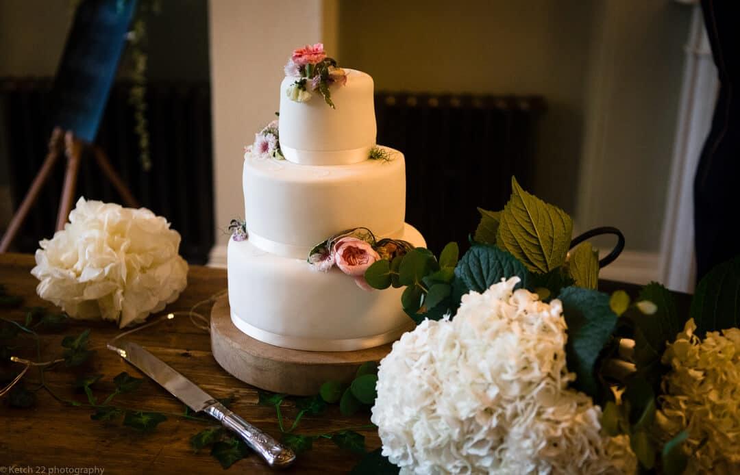 Wedding cake at no 38 wedding