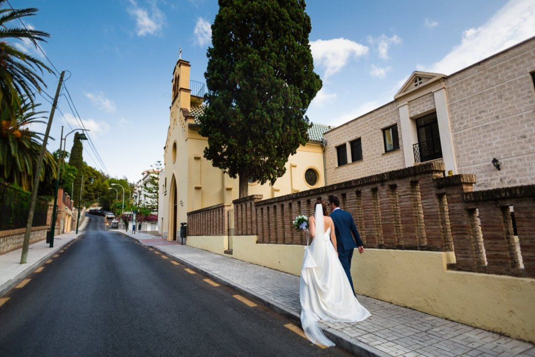 Documentary wedding photography Andalusia Spain / Bride and groom