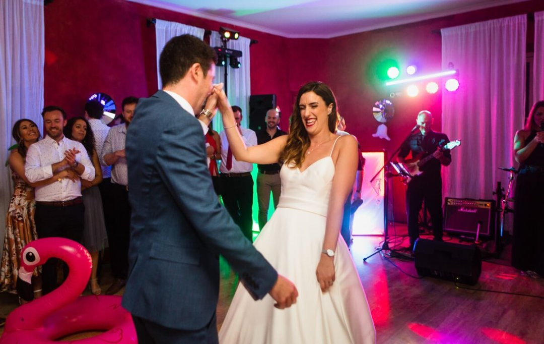 First dance at Spanish Wedding