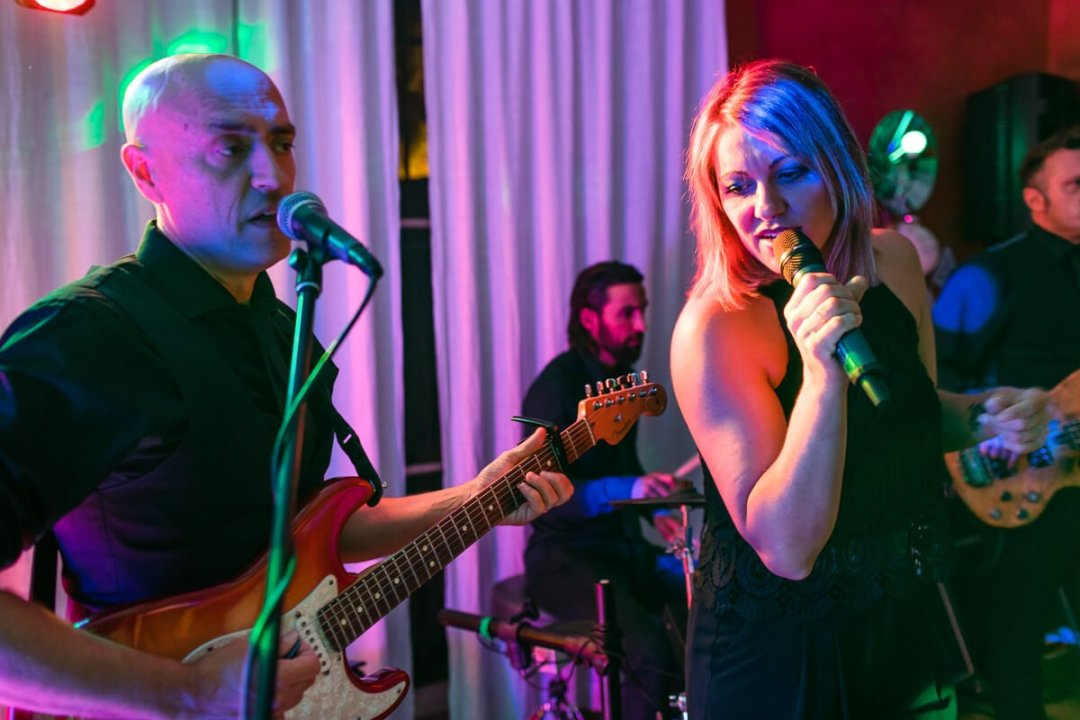 Live wedding band Malaga Spain