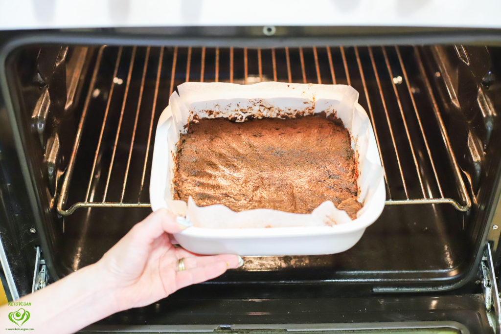 To the oven | keto-vegan.com