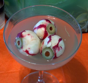 Radish Eyeballs by The Rogue Cookie