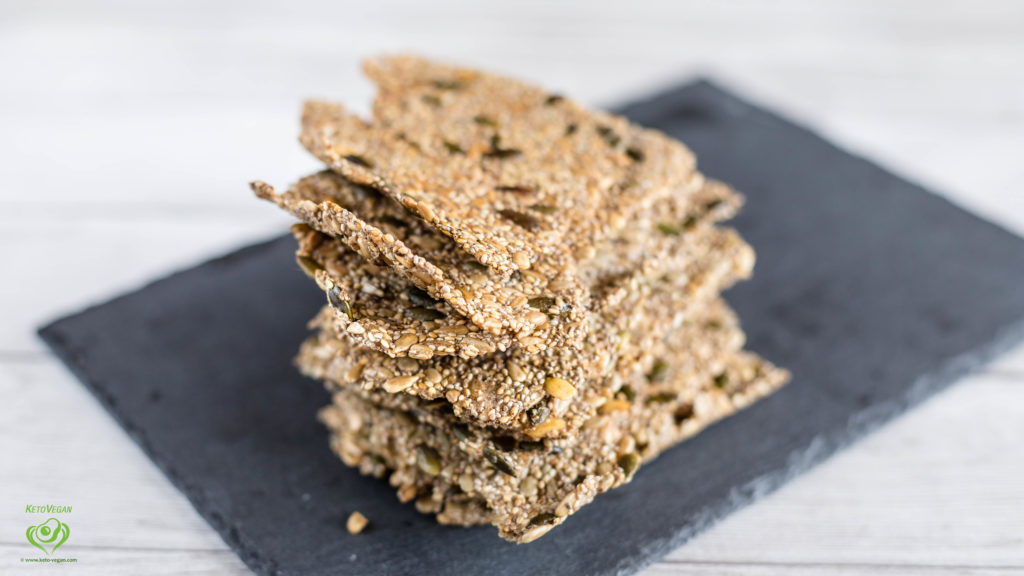 Perfect Keto-Vegan Crisp Bread | keto-vegan.com