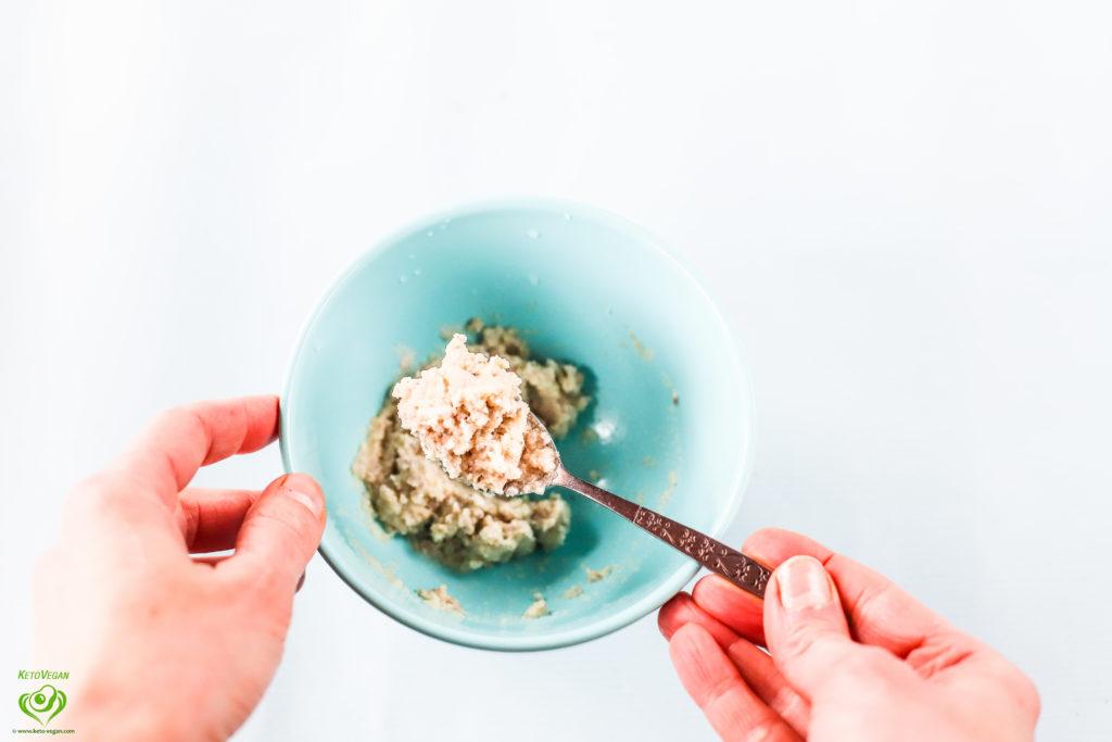 Ready dough | www.keto-vegan.com