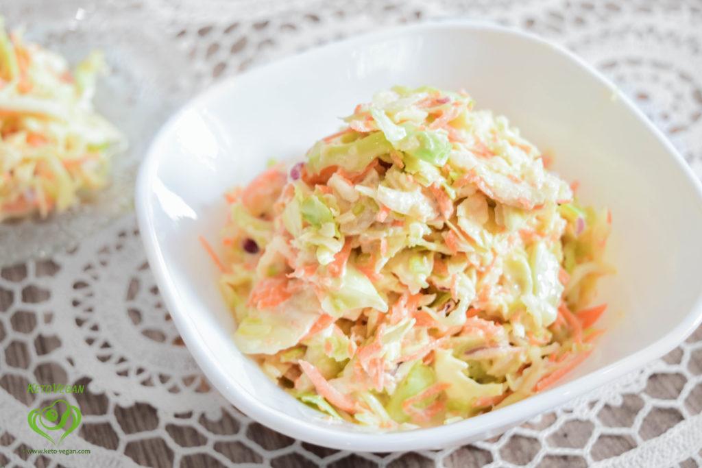 Ready salad   keto-vegan.com
