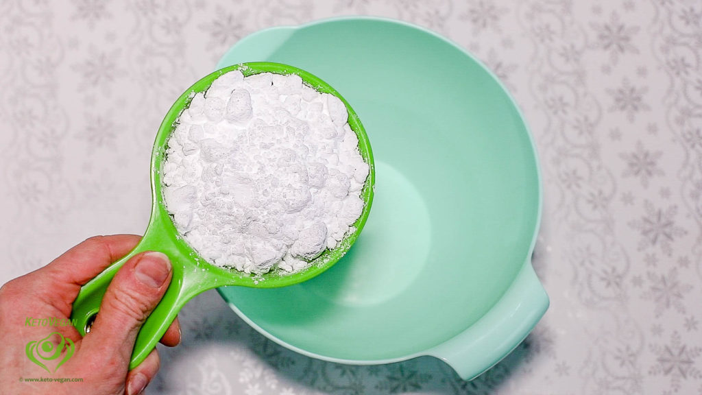 Powdered Erythritol | www.keto-vegan.com