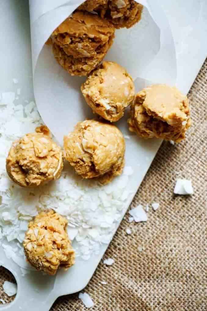 no bake cookies with coconut