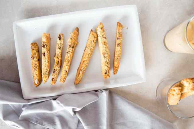 milk and biscotti cookies