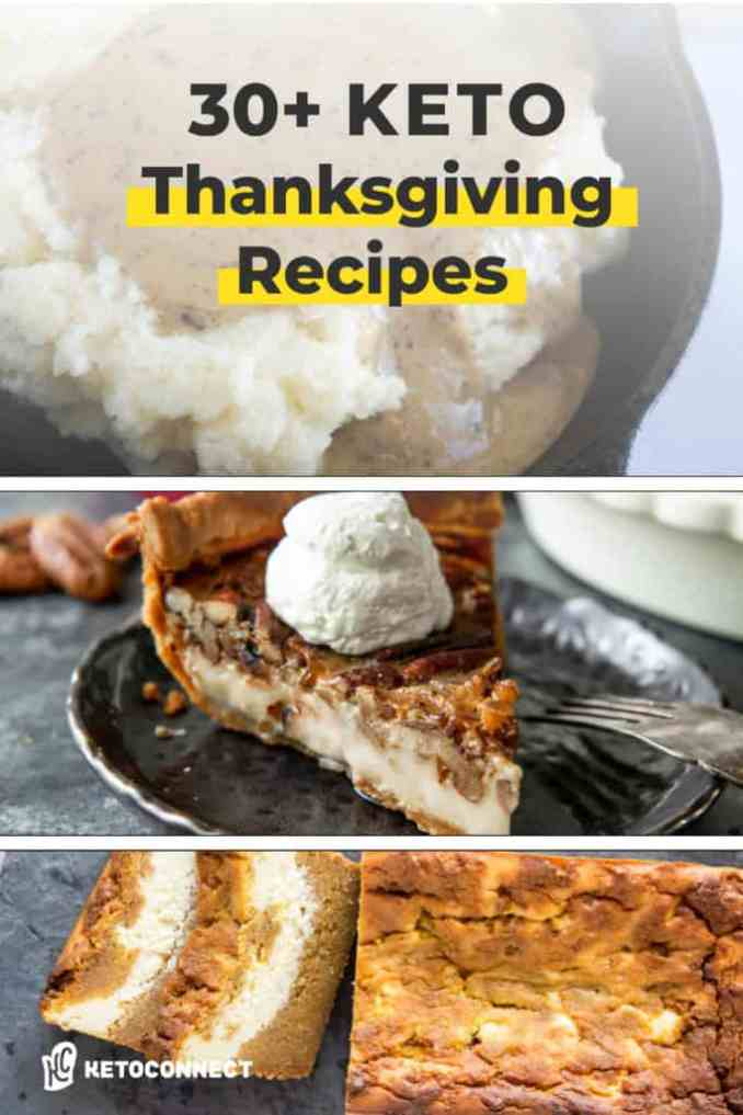 recipes to make any thanksgiving keto friendly