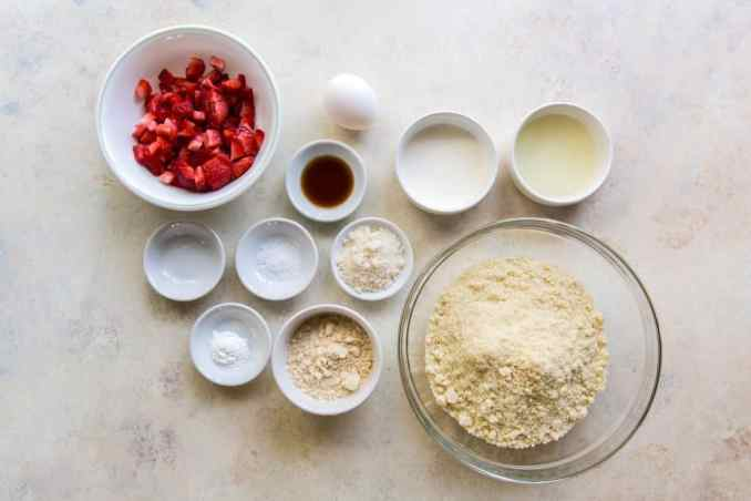 bowls of ingredients for this recipe