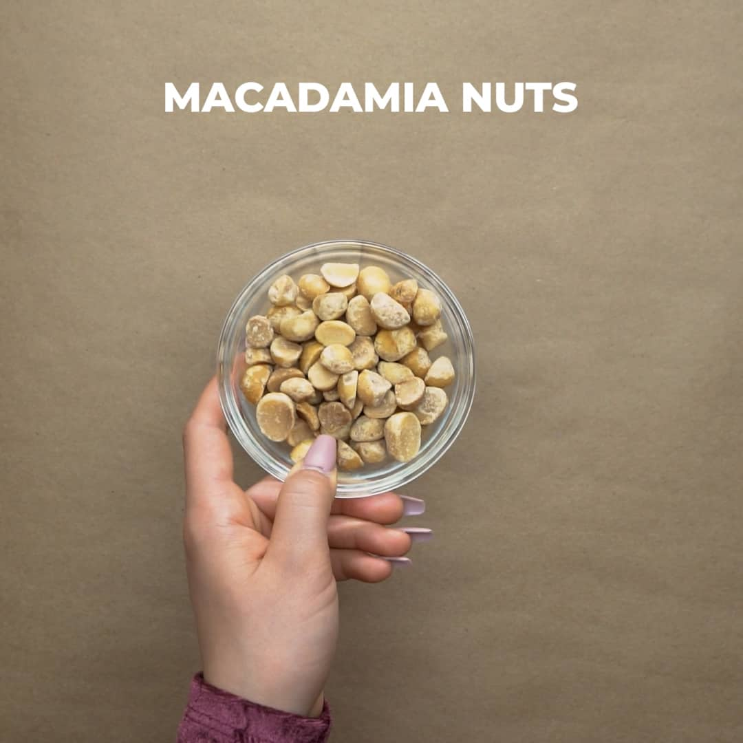 macadamia nuts in a small bowl