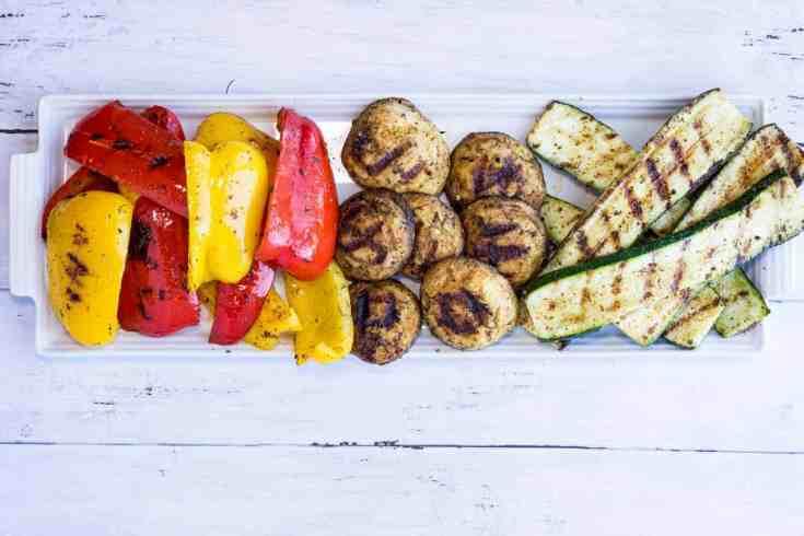 Keto/Low-Carb Grilled Veggies