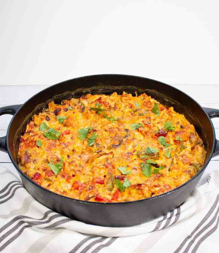 King Ranch Casserole (Keto, Low-Carb)