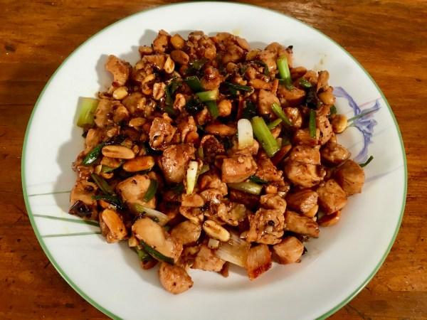 Keto Kung Pao Chicken