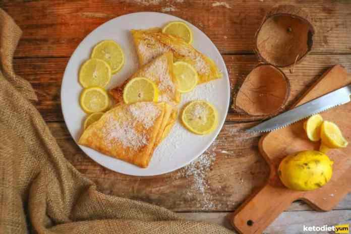 easy keto flour crepes