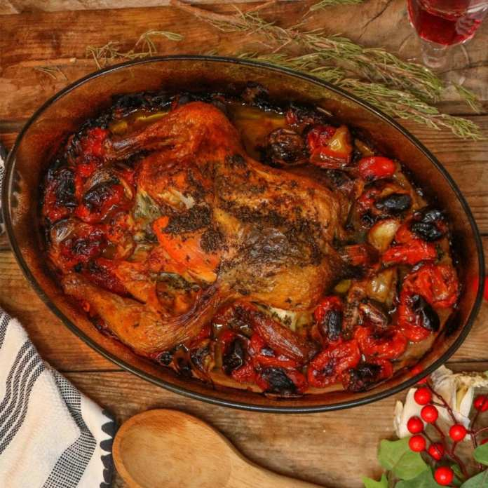 Garlic Roasted Chicken Recipe