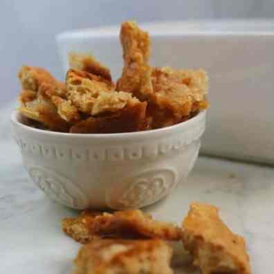 Parmesan Keto Croutons